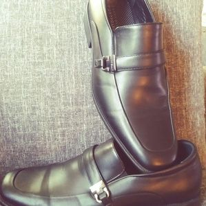Perry ellis mens black shoes
